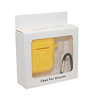 Чехол Silicone Case Жёлтый для Airpods
