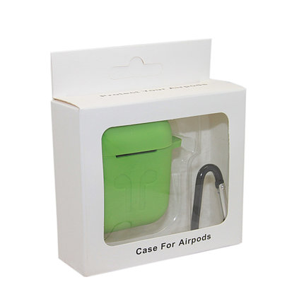 Чехол Silicone Case Зелёный для Airpods, фото 2