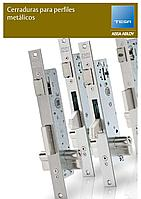 """TESA 4240BA35ED3AI замок для алюминиевых профильных дверей В:35 мм с функцией """"Антипаника"""", правый"""