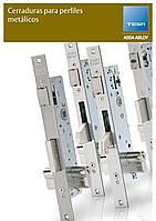 """TESA 4240BA35EI3AI замок для алюминиевых профильных дверей В:35 мм с функцией """"Антипаника"""", левый"""