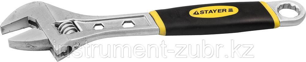 Ключ разводной CHROMAX, 200 / 25 мм, STAYER
