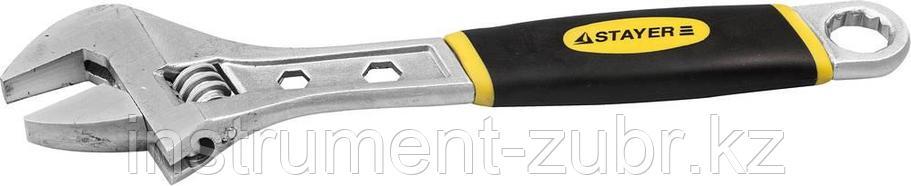 Ключ разводной CHROMAX, 200 / 25 мм, STAYER, фото 2