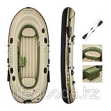 Надувная лодка Hydro-Force Voyager 500 с веслами и сиденьями Bestway 65001, фото 3