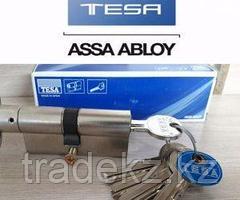 TESA 5030 30 50 N цилиндр (личинка для замка) ТЕ-5 30х50 мм с 3 ключами, никель