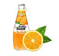 Нектар Aziano Апельсин с семенами базилика 290 мл