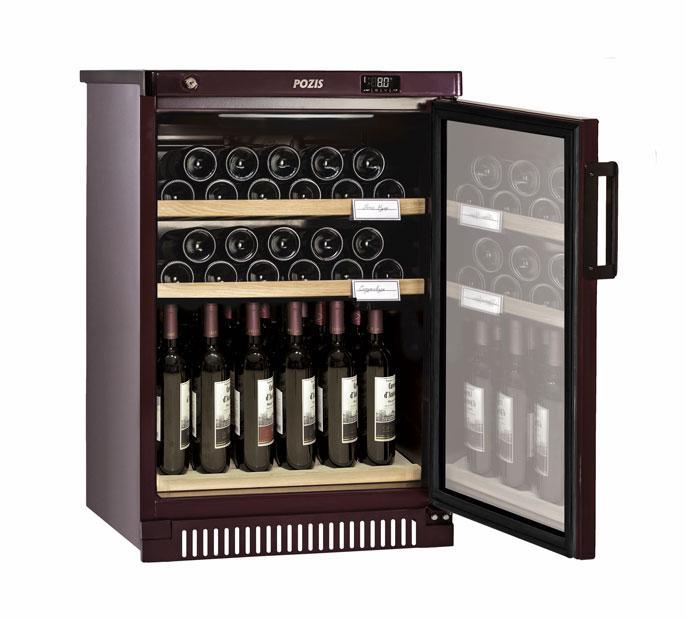 Шкаф винный Pozis ШВ-39 вишневый