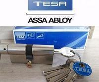 TESA 50304040L цилиндр (личинка для замка) 40х40 мм, латунь