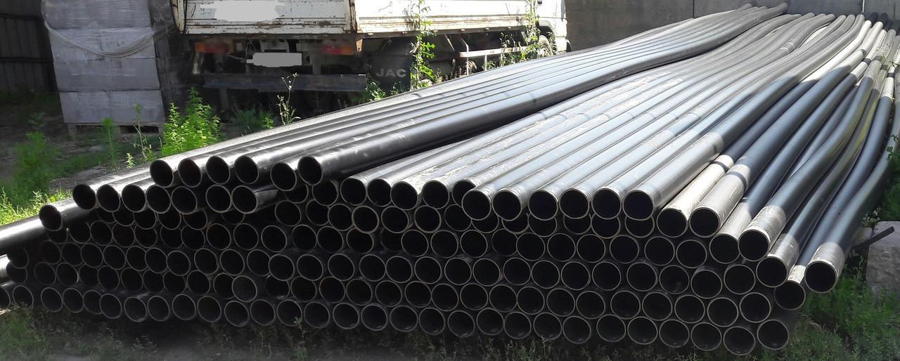 Труба ф125 ст 6мм  полиэтиленовая