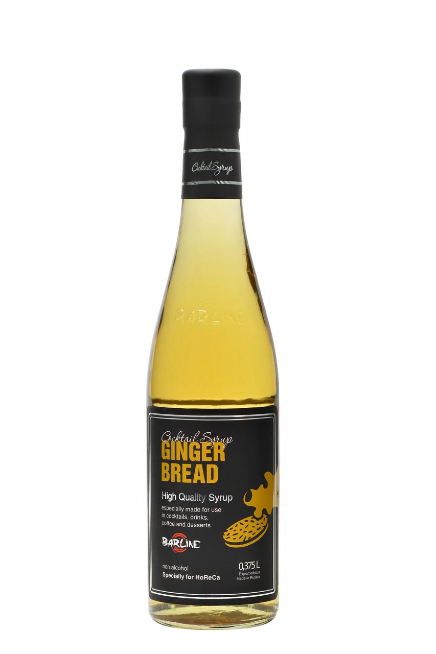 "Сироп Barline ""Ginger Bread"" Имбирный пряник, 0,375 литра"