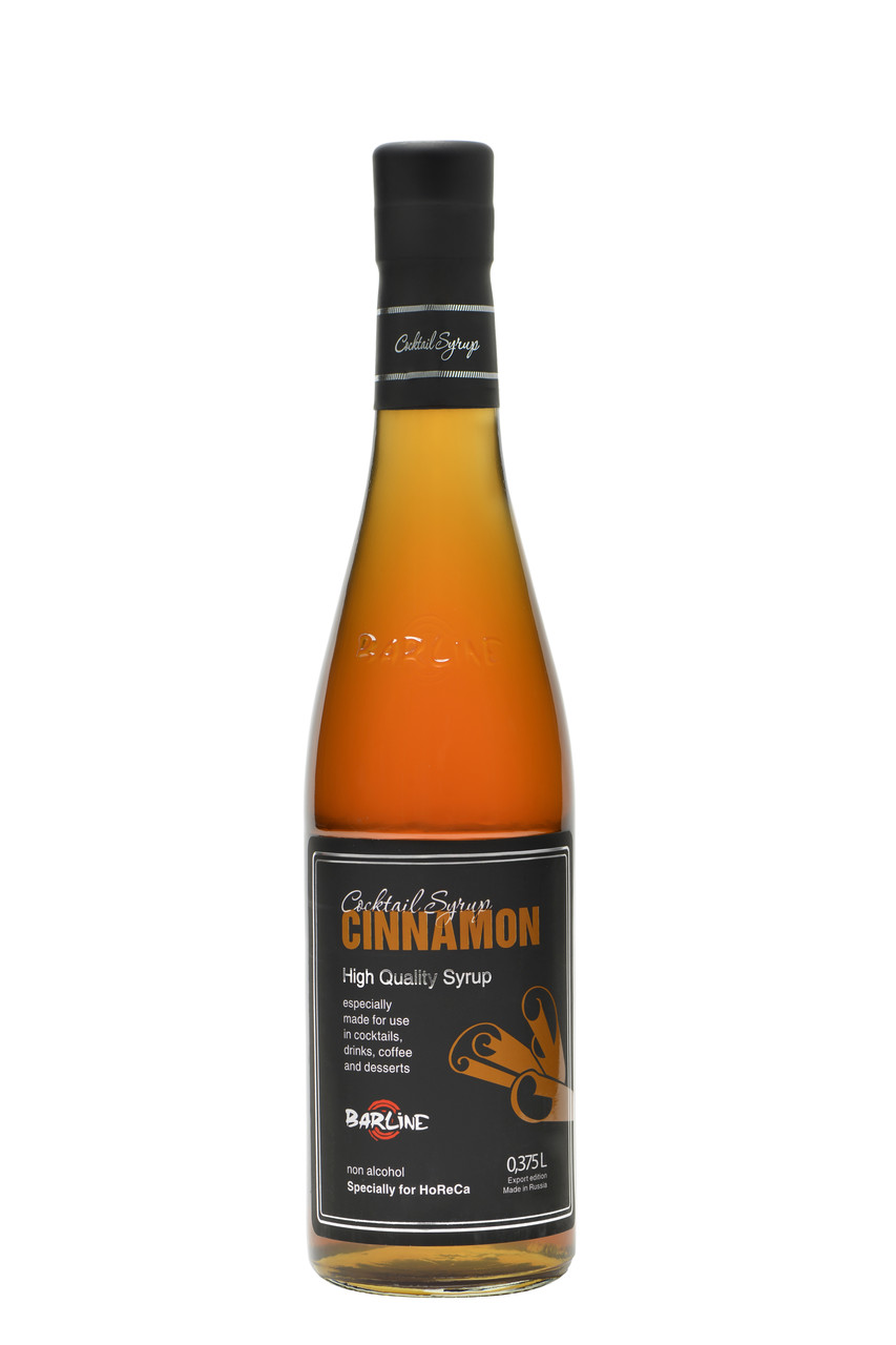 "Сироп Barline ""Cinnamon"" Корица, 0,375 литра"
