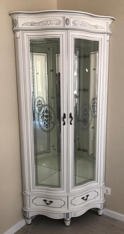 "Угловая витрина ""Палермо-6"" БС"
