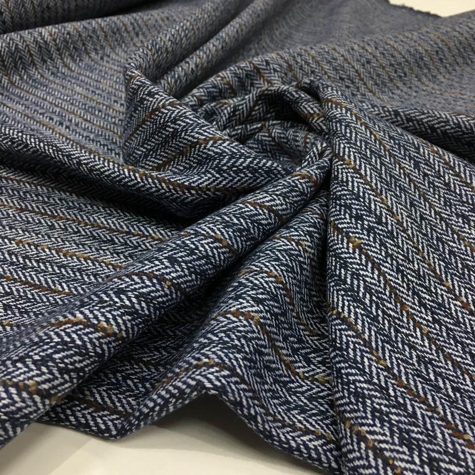 Ткань костюмная елочка