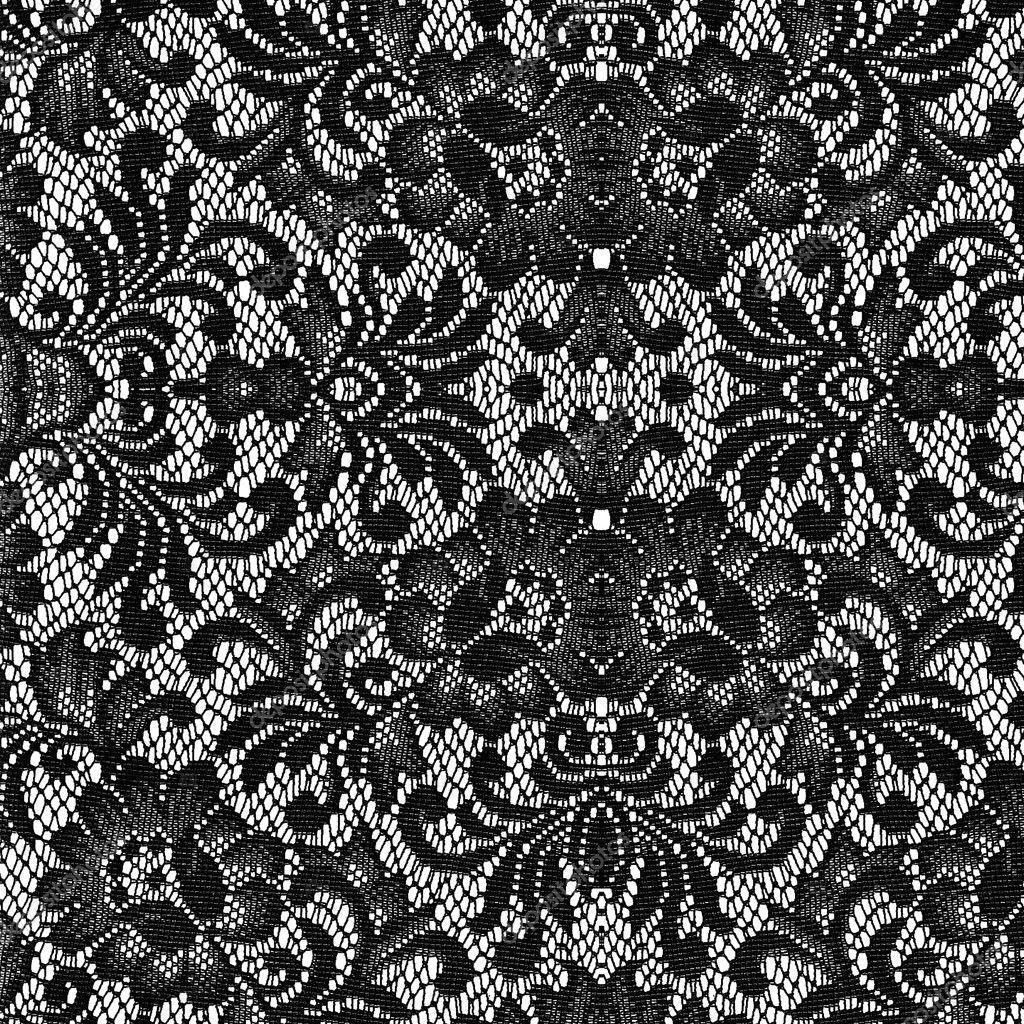 Кружева черные