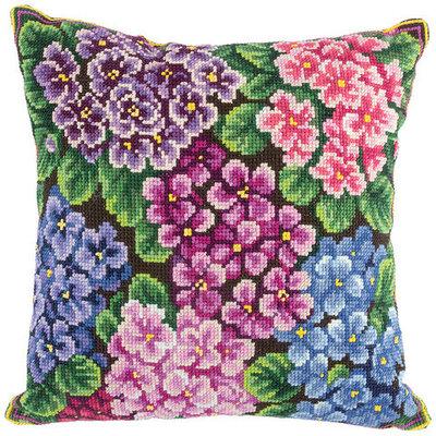 Вышивка подушка