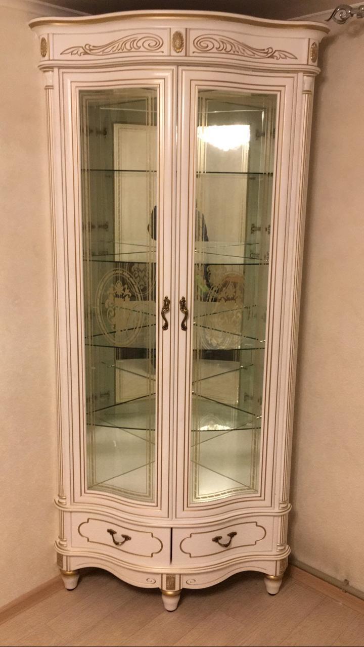 "Угловая витрина ""Палермо-6"" БЗ"