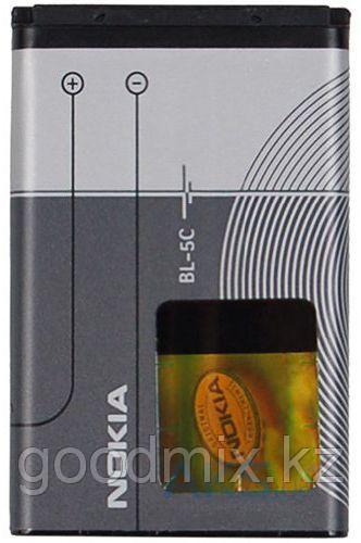 Заводской аккумулятор для Nokia 1661 (BL-5C, 1020mah)