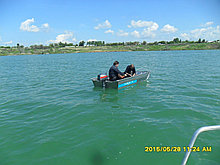 Мотрные лодки с румпельным управлением Kazboat 30 п