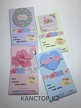 Стикеры Our love story с фламинго