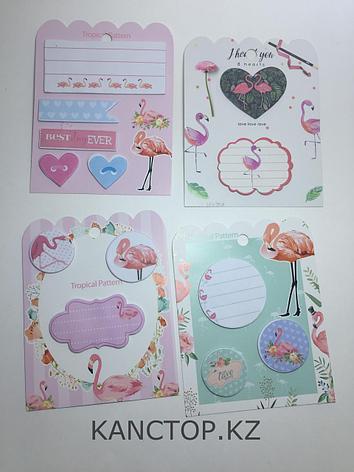 Стикеры Our love story с фламинго, фото 2