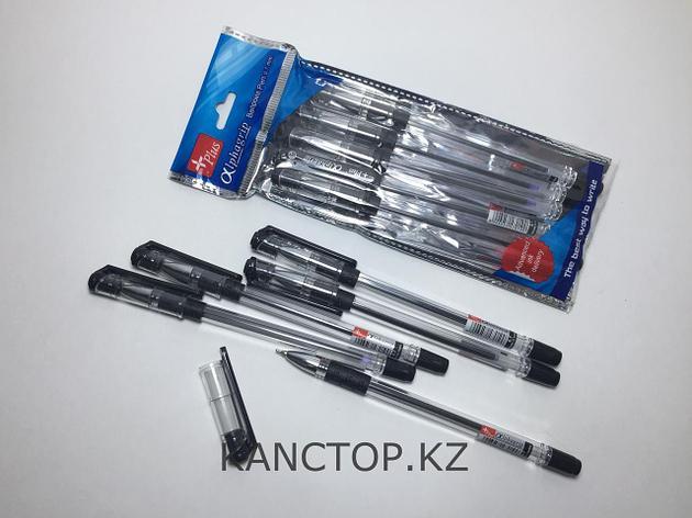 Ручка шариковая Alphagrip черная, фото 2
