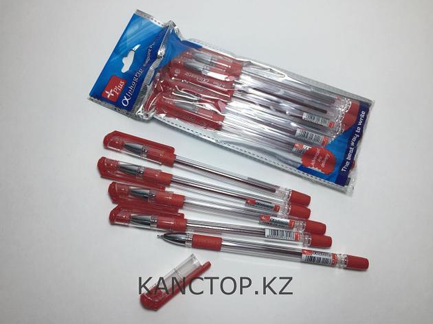Ручка шариковая Alphagrip красная, фото 2