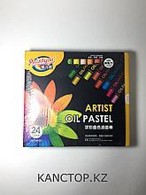 Пастель, мелки маслянные Paintyou  разноцветные, 24 цветов