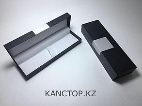 Футляр для ручек подарочный с металлической вставкой