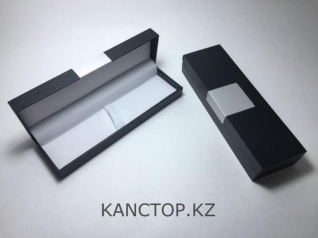 Футляр для ручек подарочный с металлической вставкой, фото 2
