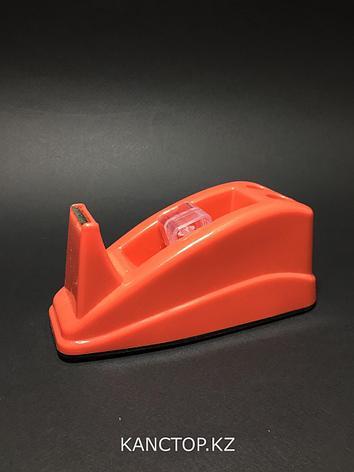 Диспенсер для скотча DINGLI скотчерезка средняя, фото 2