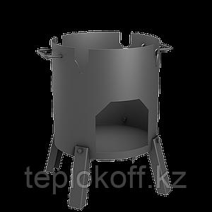 Печь для казана СТЭН Казанка-370 8-12 литров разборная, переносная