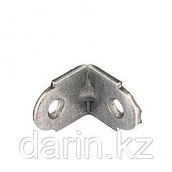 Уголок мебельный усиленный, 2 мм, 20 х 20 х 16 мм, цинк Россия Сибртех