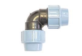 Отвод компрессионный ф50 мм