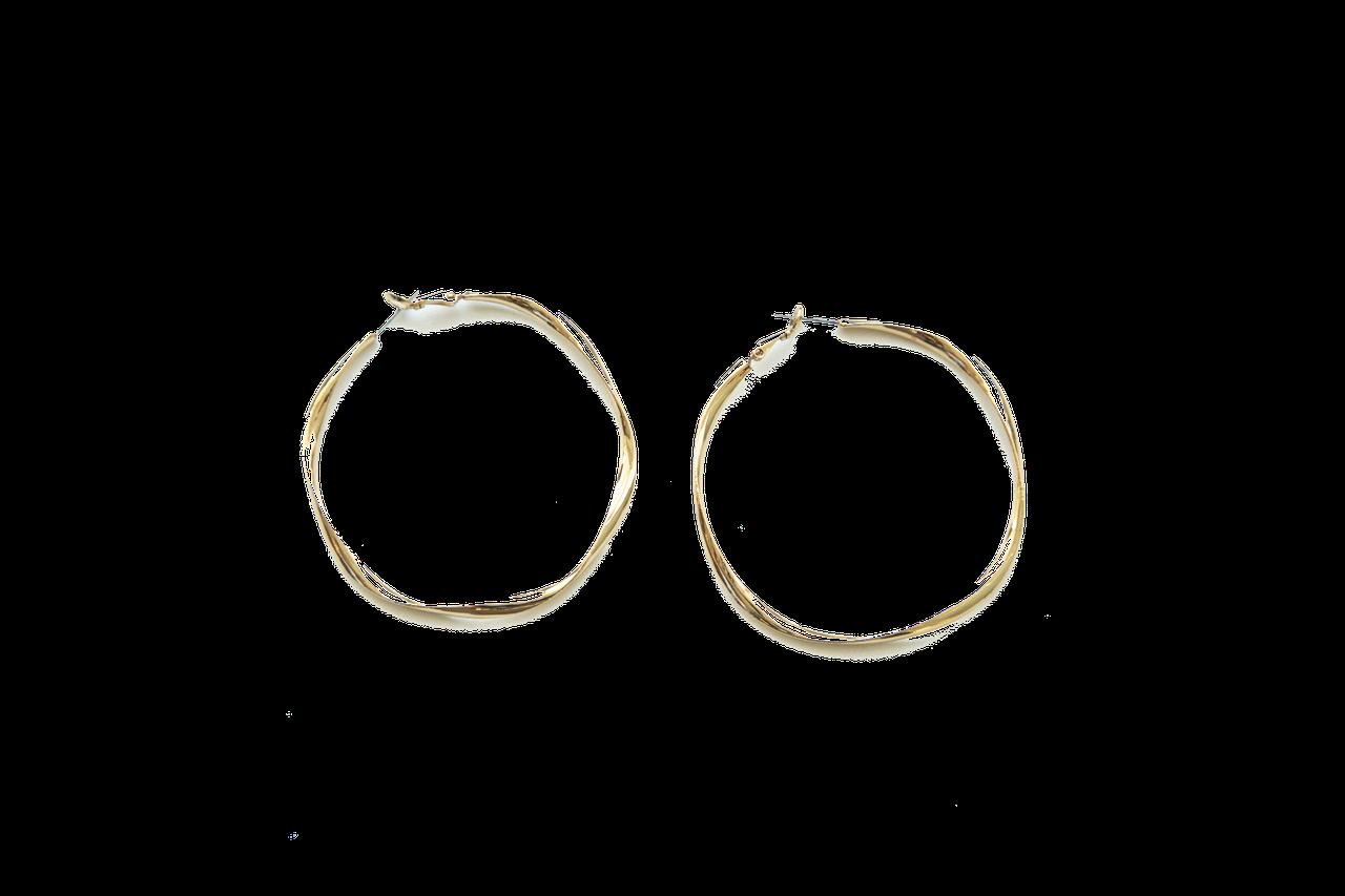 Серьги-кольца Brosh Jewellery (Золото)