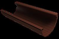 Желоб водосточный 4000мм/125мм (шоколад), фото 1