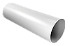 Труба водосточная 3000мм/90мм (белый)