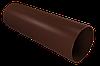 Труба водосточная 4000мм/90мм (шоколад)