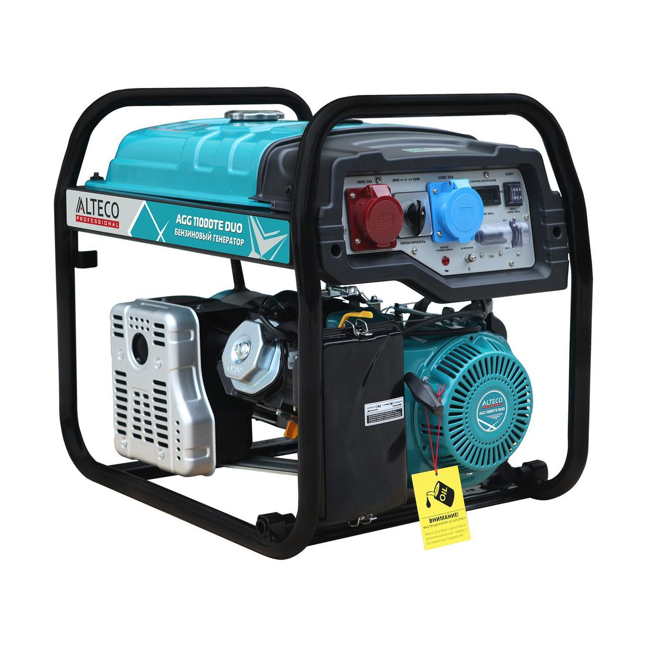 Профессиональный генератор ALTECO AGG 11000 TE DUO