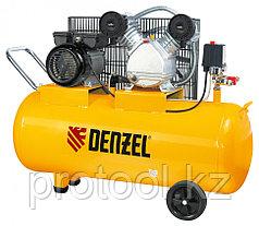 Компрессор воздушный PC 2/100-370, 2,2 кВт, 370 л/мин, 100 л// DENZEL