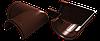 Угол 90° универсальный (шоколад)