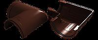 Угол 90° универсальный (шоколад), фото 1