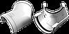 Угол 135° универсальный (белый)