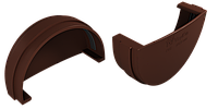 Заглушка желоба (шоколад), фото 1