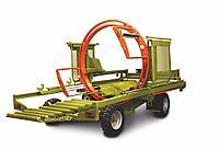 Скоростной упаковщик рулонов сена SW120 с гидравлическим приводом колёс, KRMZ, фото 1