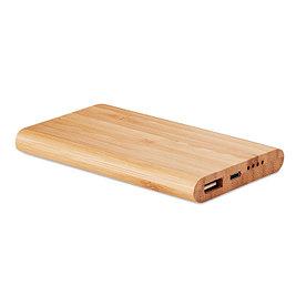 Powerbank с бамбуковым корпусом и емкостью 4000 мАч