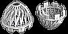 Решётка воронки защитная (белый)