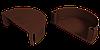 Заглушка воронки (шоколад)
