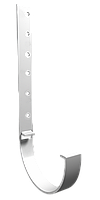 Кронштейн желоба металлический (белый), фото 1