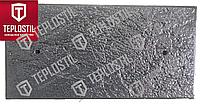Термопанель облицовочная завода TEPLOSTIL. Фактура Рваный Руст с утеплителем 30 мм