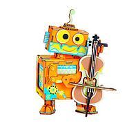 Музыкальная шкатулка Робот-виолончелист