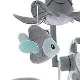 Электрокачели PITUSO CARINO Жираф GREY/Серый МИШКИ (адаптер. пульт) 75х67х98.5см, фото 5